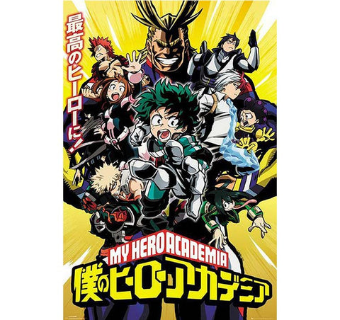 My Hero Academia - Group Poster