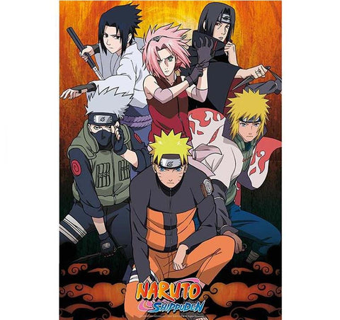 Naruto - Group Poster