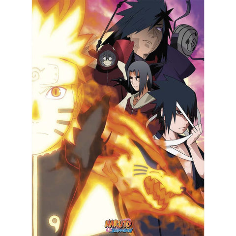 Naruto - Light Against Darkness Poster