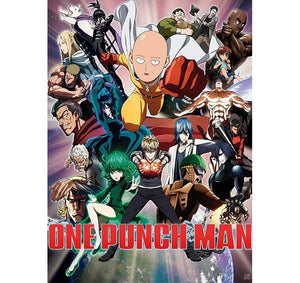One  Punch Man - Heroes Poster