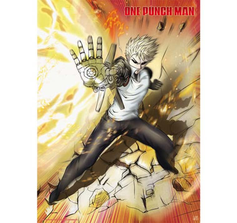 One Punch Man - Genos Poster