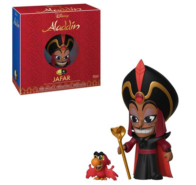 Disney - Jafar - Aladdin POP Vinyl 5 Star