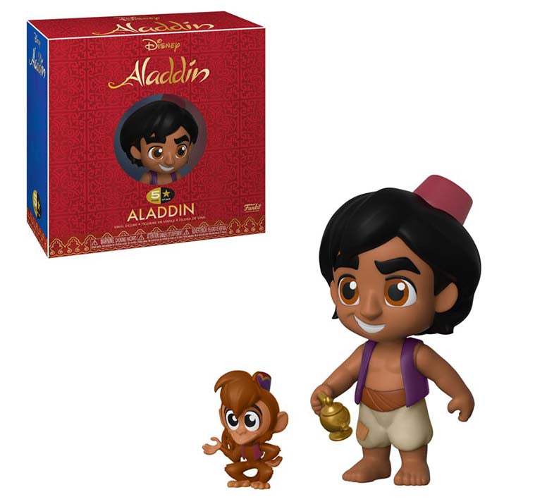 Disney - Aladdin - Aladdin With Abu POP Vinyl 5 Stars