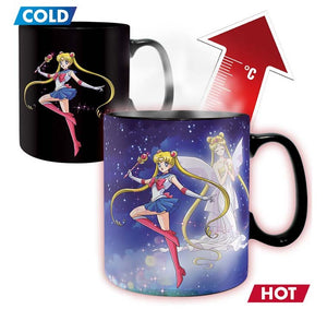Sailor Moon - Sailor & Chibi Heat Changing Mug - 460ml