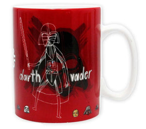 Star Wars - Darth Vader & Stormtrooper Sketchbook Mug - 460ml