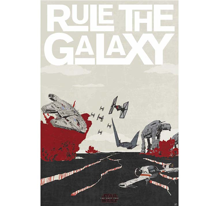 Star Wars - Rule The Galaxy Poster