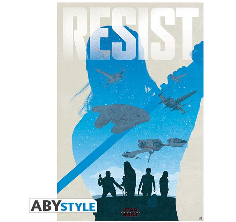Star Wars - Resist Poster
