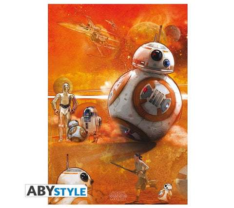 Star Wars - BB8 Poster