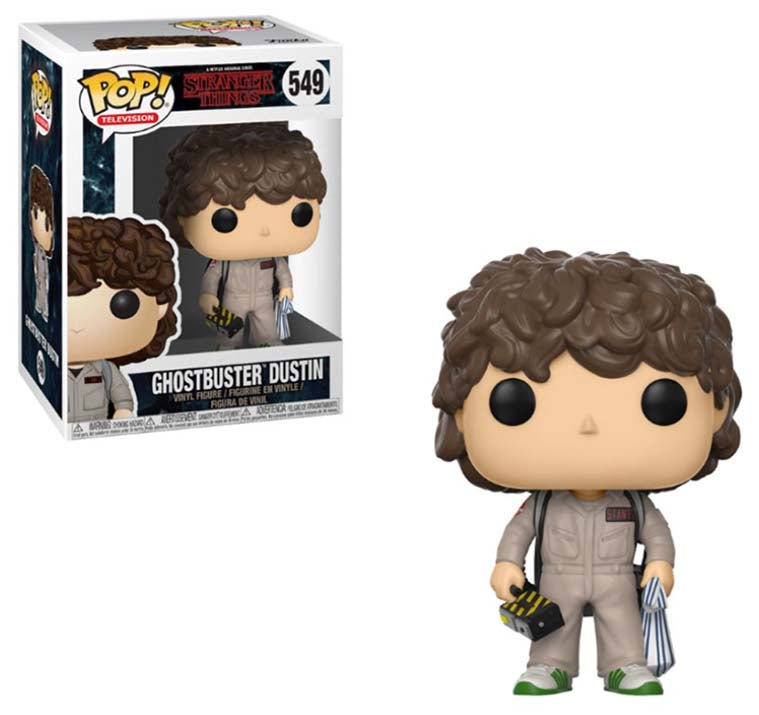 Stranger Things - Ghostbusters Dustin POP Vinyl 549
