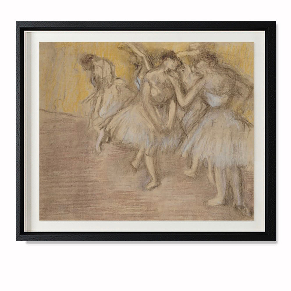 Five Dancers On Stage, c. 1906