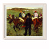 Racehorses (Leaving The Weighing), c. 1874