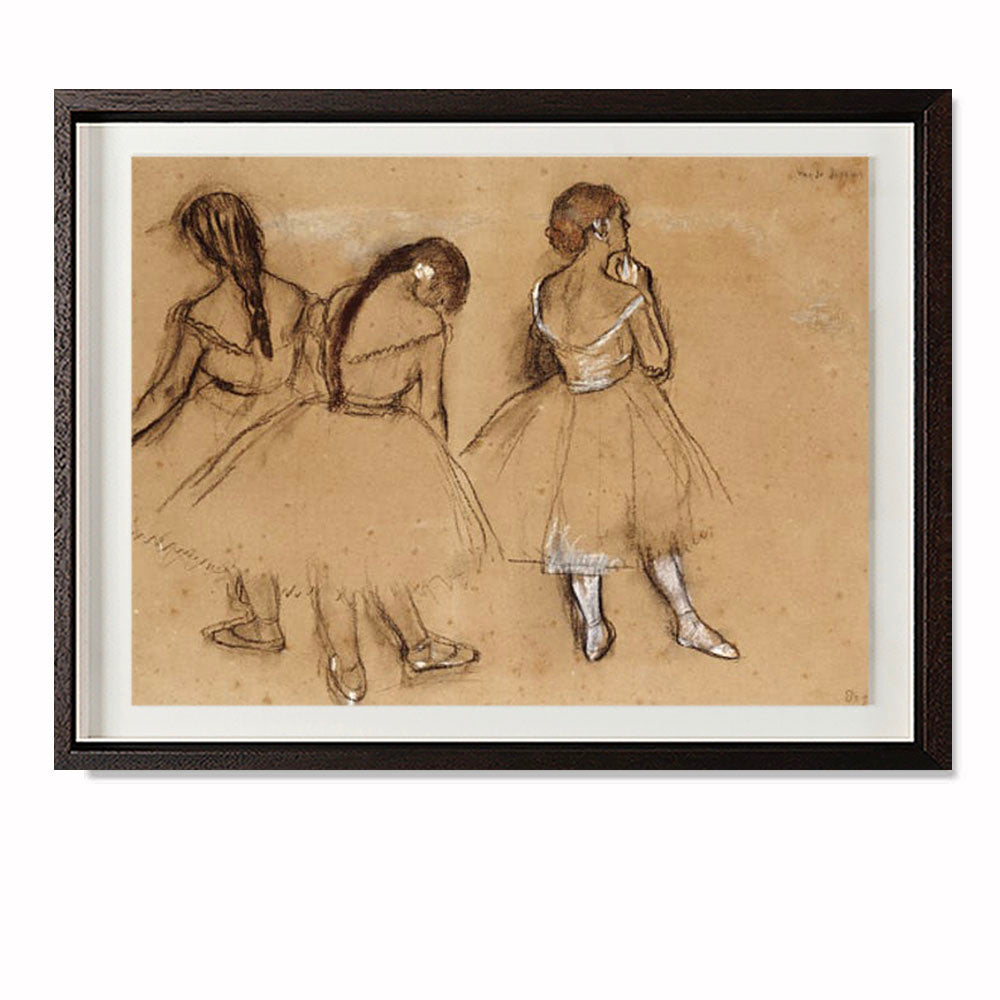 Three Dancers (Sketch)