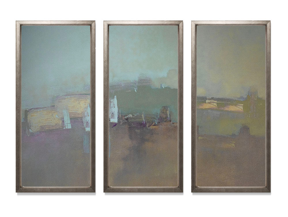 Tuscan Hills - Triptych