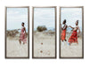 The Cool Maasai 2 - Triptych