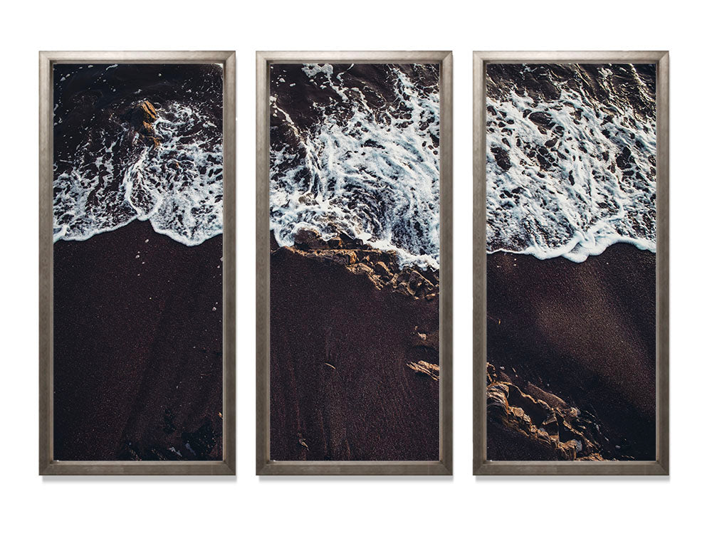 Dark Shore II - Triptych