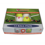 4Winners Outdoor Smooth Field Hockey Balls 12pk