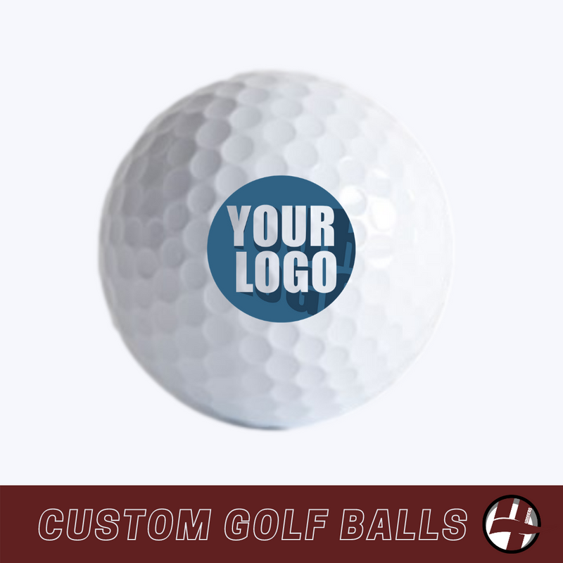 Custom Printed Golf Balls - 100 Pack