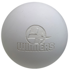 white lacrosse ball