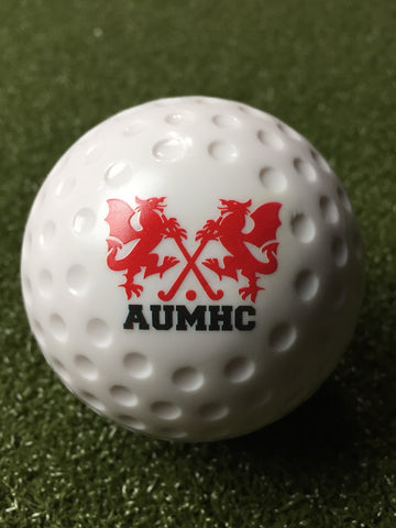 AUMHC White Dimple Ball