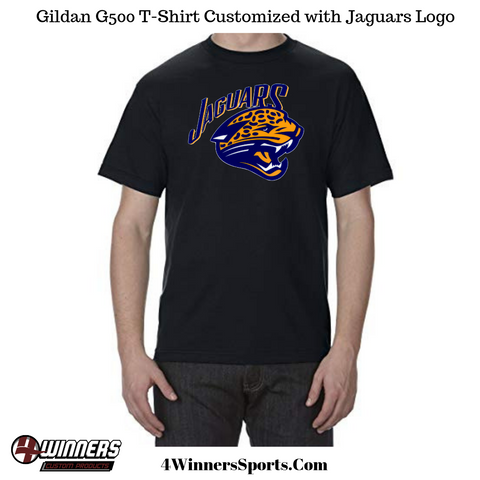 Gators Baseball Customized Gildan G500 T-Shirt.