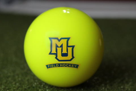 Marquette University Field Hockey Yellow Smooth Ball