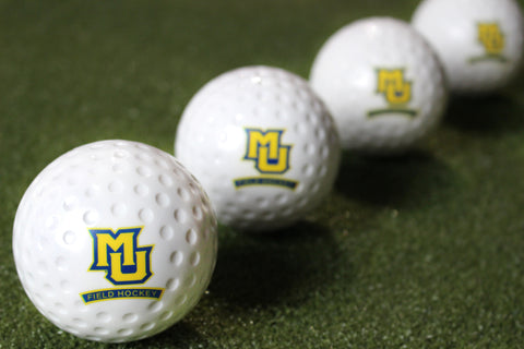Marquette University Field Hockey White Dimple Ball