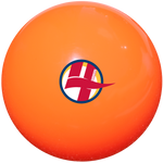 Orange Outdoor Smooth Field Hockey Ball - Single