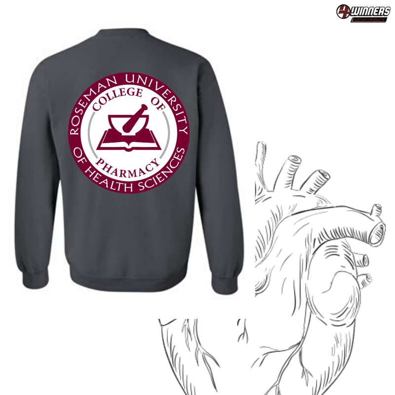 Roseman University Pharmacy Pull-Over Sweatshirt