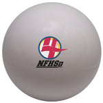 white NFHS Certified Field Hockey Ball