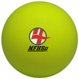 yellow NFHS Certified Field Hockey Ball
