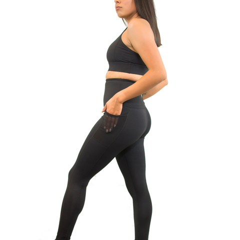Black womens yoga pants