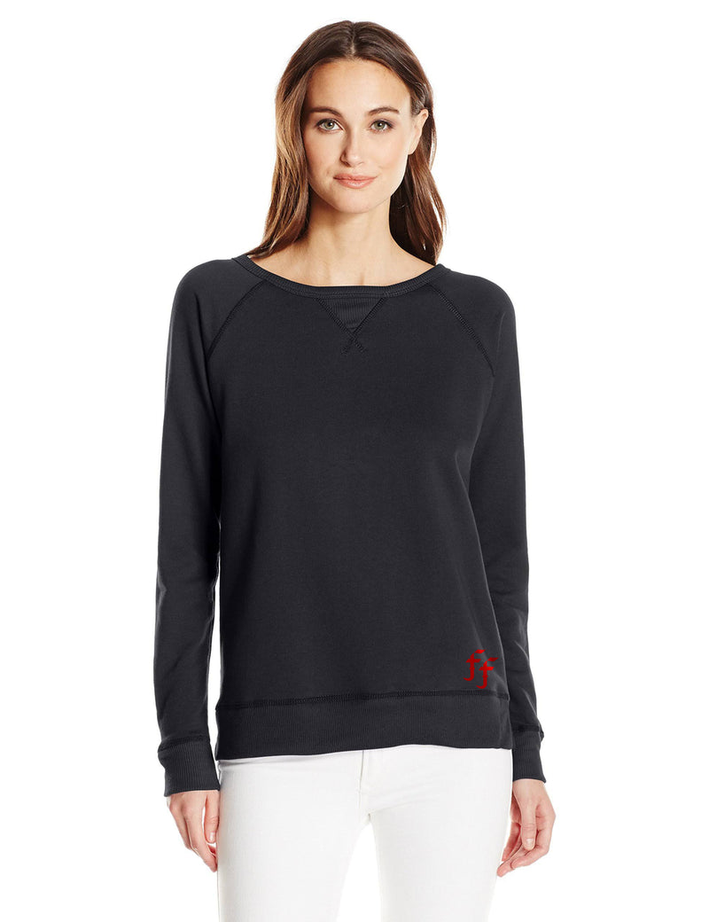 FIIT Factory Black Sweater Red F's