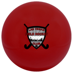 Las Vegas Field Hockey Red Smooth Ball