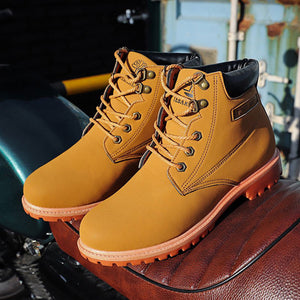 Autumn Men Tactical Military Safety Working Boots