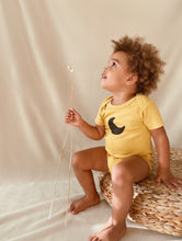 Load image into Gallery viewer, Mustard | MOON organic onesie