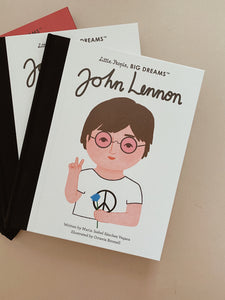John Lennon Little People Big Dreams Hardcover