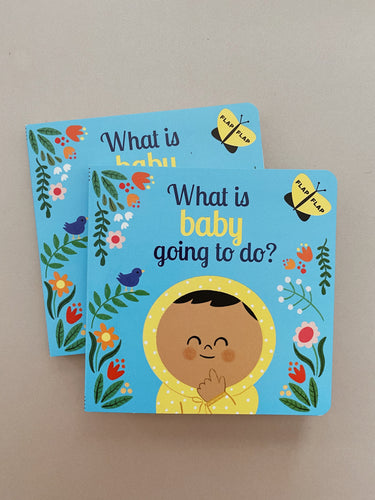 What is baby going to do? Flap Flap Board Book
