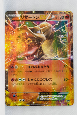 XY 20th Starter Pack 010/072	Charizard EX Holo