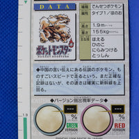 1996 Bandai Red 059 Arcanine