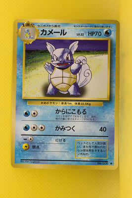 Base Wartortle 008 Uncommon
