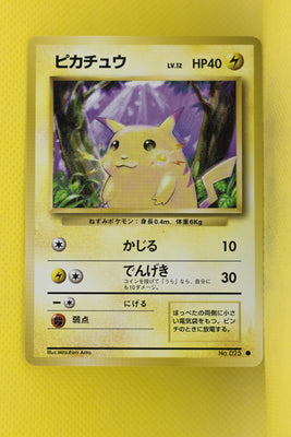 Base Pikachu 025 Common