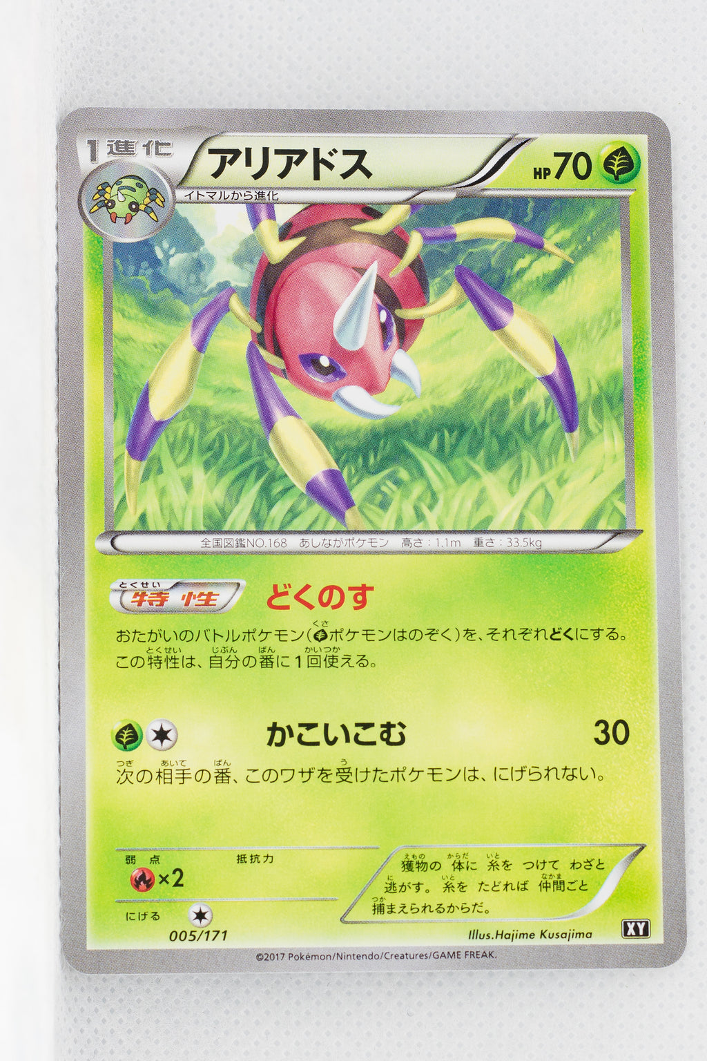The Best of XY 005/171 Ariados