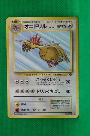 Jungle Fearow 022 Uncommon