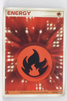 World Championship Pack 104/108	Fire Energy Rare 1st Edition