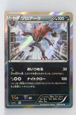 XY1 Collection X 038/060	Zoroark 1st Edition Holo