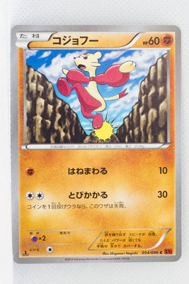 XY3 Rising Fist 054/096	Mienfoo 1st Edition