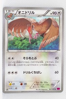 XY4 Phantom Gate 067/088	Fearow 1st Edition