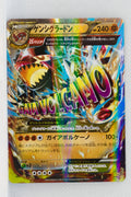 XY5 Gaia Volcano 040/070 Primal Groudon EX 1st Edition Holo