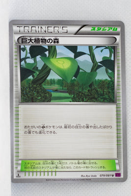 XY7 Bandit Ring 079/081 Forest of Giant Plants 1st Edition