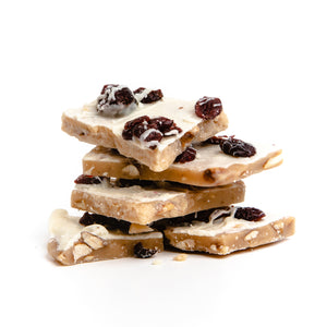 Cranberry Cream Almond Toffee